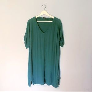 Madewell | Dress Novel Shift Green Mini Large